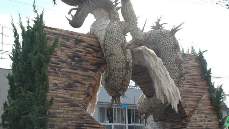 仲町下連合組 2009年大造り物
