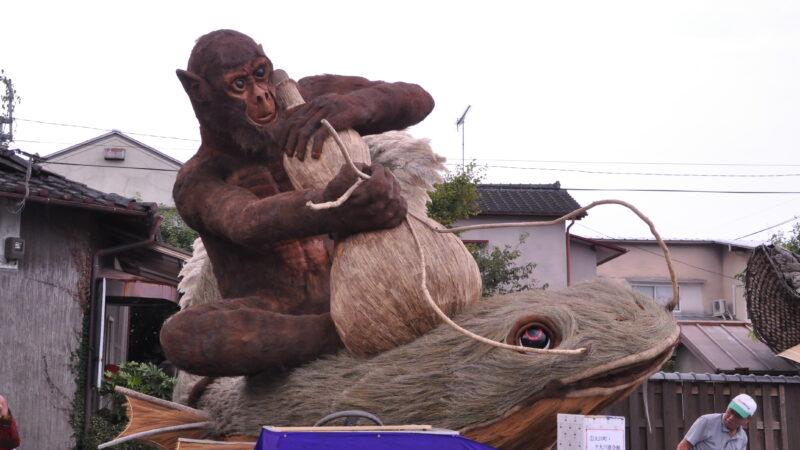 大川町・下大川連合組 2016大造り物