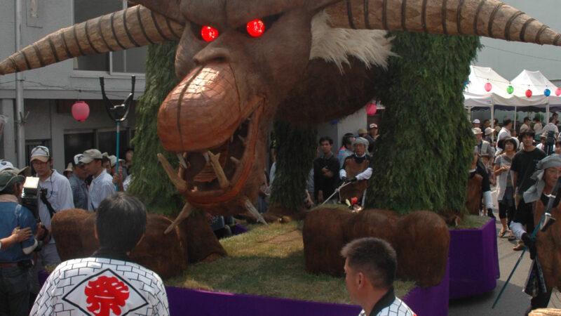 浦川連合組 2009年大造り物