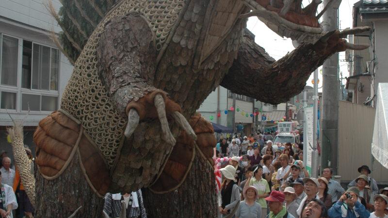 大川町・下大川連合組 2009大造り物