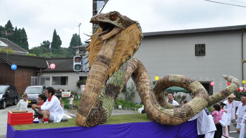 大川町・下大川連合組 2013大造り物